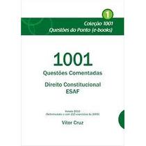 Ebook 1001 Questões Comentadas Direito Constitucional Esaf