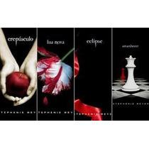 4 Livros Da Saga Crepusculo | Lua Nova | Eclipse | Amanhecer