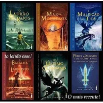 Livro Digital - Percy Jackson Coleção Completa 6 Livros
