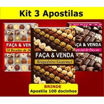 Kit 3 Apostilas Faça & Venda