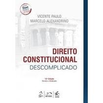 Livro Em Pdf. Direito Constitucional Descomplicado - 2015