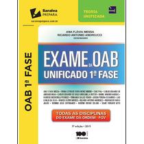 Exame Da Oab Unificado - 5ª Edição - Ordem Dos Advogados