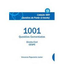 Ebook 1001 Questões Comentadas Direito Civil Cespe