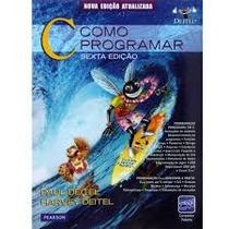 Livro Como Programar Em C - Envio Grátis