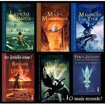 Percy Jackson Coleção Completa 6 Livros Digitais Formato Pdf