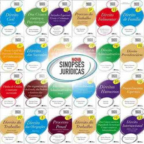 Sinopses Jurídicas - Coleção Completa 35 Livros Digitais