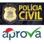 Pc Df Polícia Civil Do Distrito Federal - Delegado - Aprova