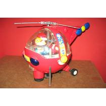 Nave Helicoptero Antiga Funcionando .