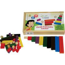 Escala Cuisenaire (brinquedo Pedagógico Matemática)