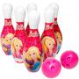 Brinquedo Jogo De Boliche Da Barbie Lider Bebê Store