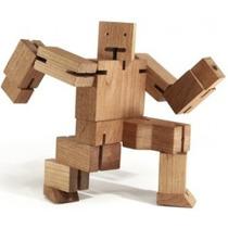 Robo-cube - Brinquedo De Madeira Ecologico Pedagogico