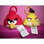 Bonecos De Pelúcia Angry Birds Chaveiro Em Perfeito Estado