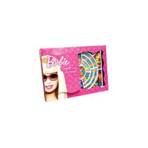 Caixa De Miçanga Brilhante Media Barbie Infantil Menina Fun