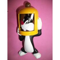 Boneco Frajola Gato Piu-piu Looney Tunes Mc Donalds 2013