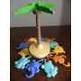 Brinquedo Kinder Ovo Maxi - Árvore Com Animais