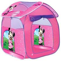 Toca Barraca Infantil Portátil Casa Da Minnie Zippy Toys