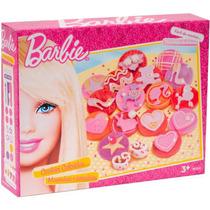 Massinha Barbie Cookies Coloridos Brinquedo Infantil Fun