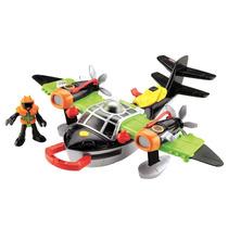 Brinquedo Menino Imaginext Aviões Sky Racer Windscorpion