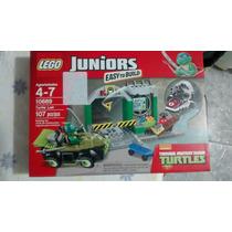 Lego Juniors Tartarugas Ninjas Peças 107