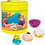 Brinquedo Infantil Sands Alive Balde Formas Doceria Yellow