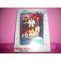 Quebra-cabeça Jonas Brothers 200 Peças Adesivas - Toyster