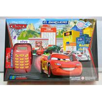 Banco Imobiliário Carros Disney C/ Máquina De Cartão