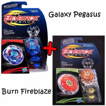Beyblade Legends Galaxy Pegasus + Burn Fireblaze Hasbro