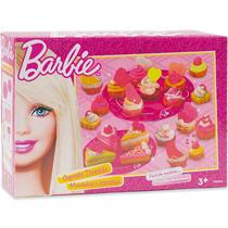 Massinha Cupcake Divertido Barbie Fun