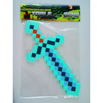Espada Do Jogo Minecraft - Diamante