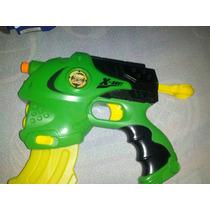 Arma De Brinquedo 5 Dardos E Com Agua
