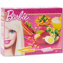 Massinha Comidinha Divertida Barbie Fun