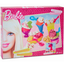 Massinha Barbie Fabrica De Sorvete Luxo