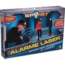 Alarme Laser Transmissor Receptor Dtc + Espelhos Spynet Dtc