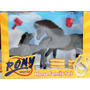 Toy Animais Cavalos - Pony World Horse Familiar Situado Chil