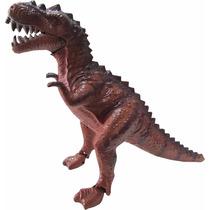 Dinossauro Eletônico 3d- Anda E Acende Os Olhos Led Com Som