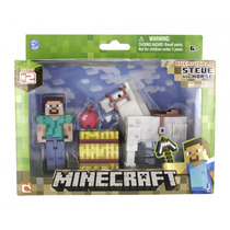 Minecraft Steve Com Cavalo Multikids Br476 Game Original!