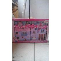 Casa De Bonecas Happy Familia Pink House