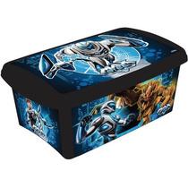 Caixa Organizadora Decora Max Steel 4l Infantil