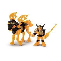 Imaginext Guerreiros Cavaleiro Esqueleto E Cavalo Mattel