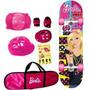 Skate Com Acessórios Barbie - Venom