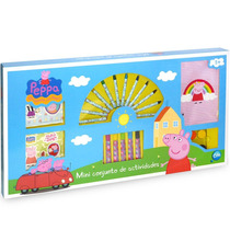 Mini Conjunto Atividades Arte Infantil Peppa Pig