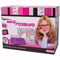 Máquina De Costura Infantil My Style Ateliê Multikids