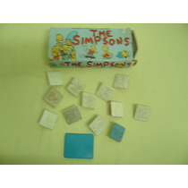 Jogo De Carimbos Para Colorir - The Simpsons -