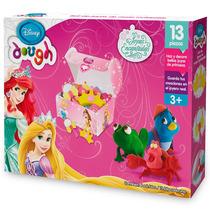 Kit Massinha Modelar Jóias Princesas Disney Original Toyng