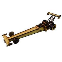 Brinquedo De Montar - Quebra-cabeça 3d - Dragster
