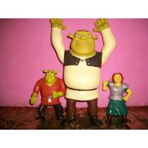 Coleção Shrek Fiona Bonecos Usado Em Bom Estado Tem Desgaste