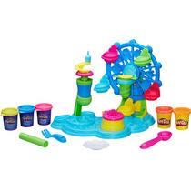 Massinha Play-doh Roda Gigante Cupcake