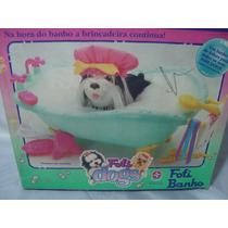 Banheira Fofis Banho Fofis Dogs Brinquedo Anos 80 Na Caixa