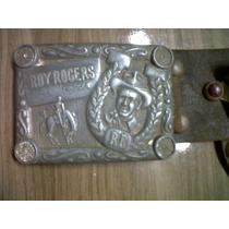 Brinquedo Antigo Espoleta Coldre Roy Rogers E Trigger
