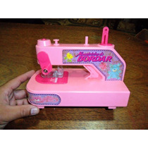 Máquininha De Bordar Costurar Brinquedo Antigo Glasslite